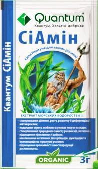 Микроудобрение Сиамин 3 г Квантум (лучшая цена купить оптом и в розницу)