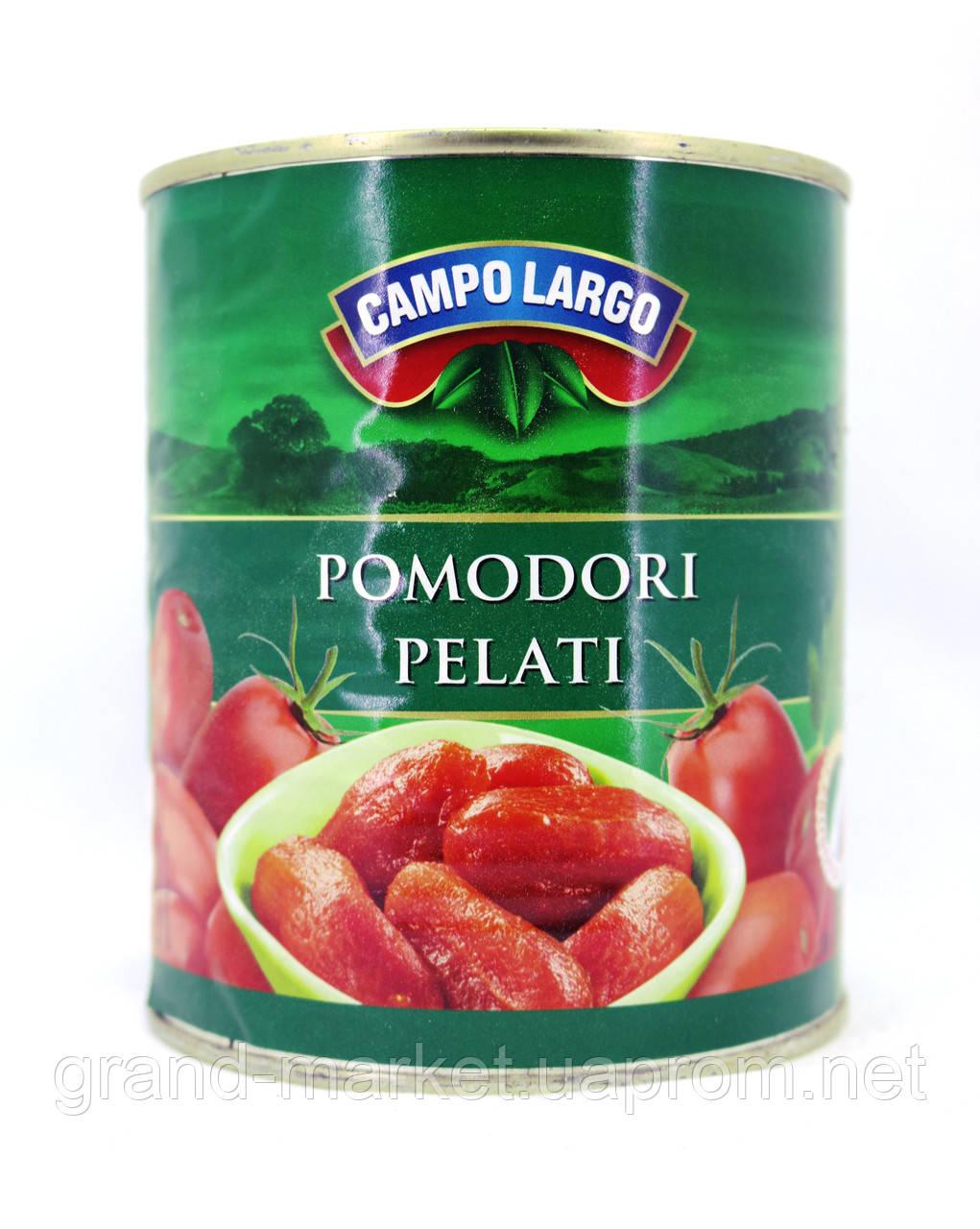 Томаты целые очищенные Campo Largo Pomodori pelati, 800g