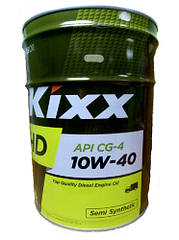 Моторное масло Kixx HD CG-4 10W40 (20л)