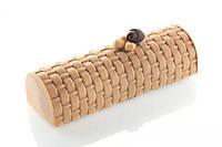 Силиконовая форма для десертов Silikomart Kit Buche+TEX02Vienna250х90mm.h=70 Италия -04432