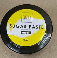 Профессиональная сахарная паста для шугаринга Gold ColIection Enjoy professional Medi 450гр.