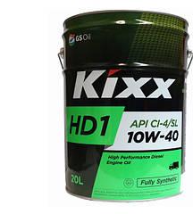 Моторное масло Kixx HD1 10W-40 API CI-4/SL (20л)