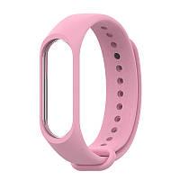 Ремешок MiJobs для Xiaomi Mi Band 3 / 4 Pink (Розовый)