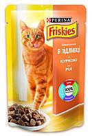 Корм для котов Фрискис (Friskies) курица 100гр