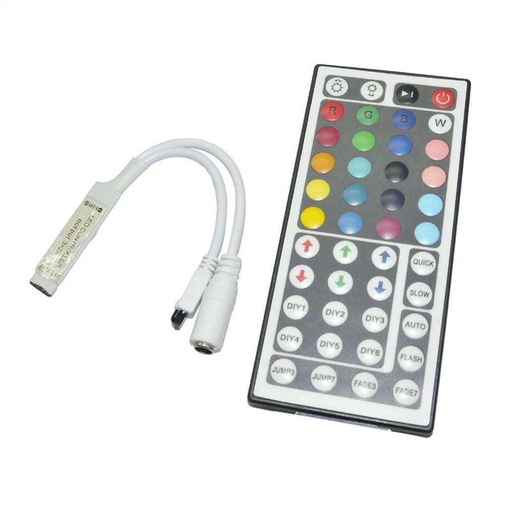 RGB контроллер 6A IR 72W 12V 44 кнопки для светодиодной ленты