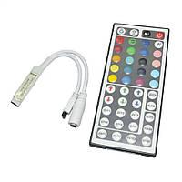 RGB контроллер 6A IR 72W 12V 44 кнопки для светодиодной ленты , фото 1