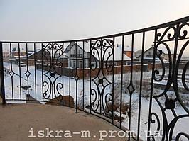 Балконное ограждение (Крюковщина)  1