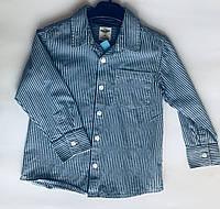 Рубашка под джинс 2-6 лет