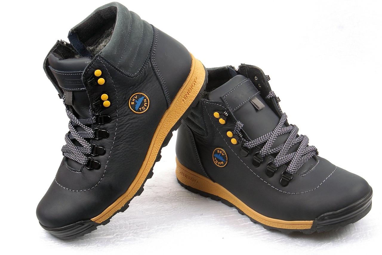 cd6308b50 Подростковые зимние ботинки кожаные: продажа, цена в Мелитополе ...