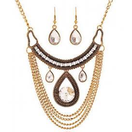 Набор ожерелье и серьги tb1219