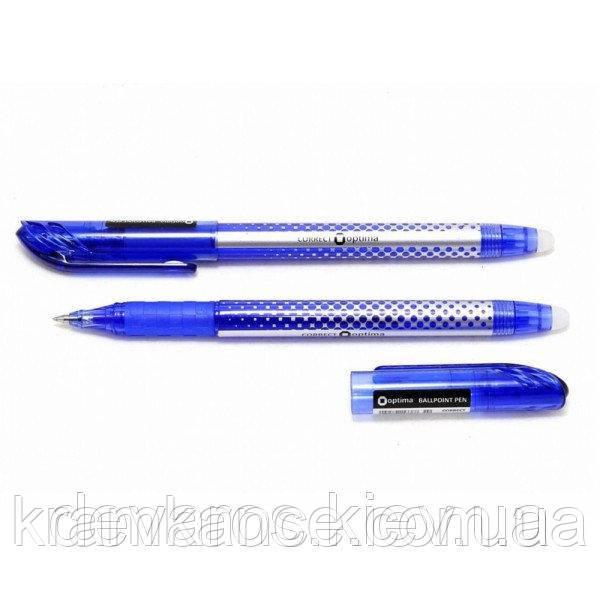 """Ручка """"OPTIMA"""" (пиши-стирай) син. 15338-02"""