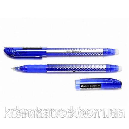 """Ручка """"OPTIMA"""" (пиши-стирай) син. 15338-02, фото 2"""