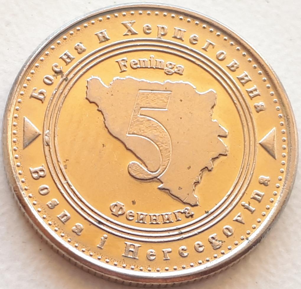 Босния и Герцеговина 5 фенингов 2013