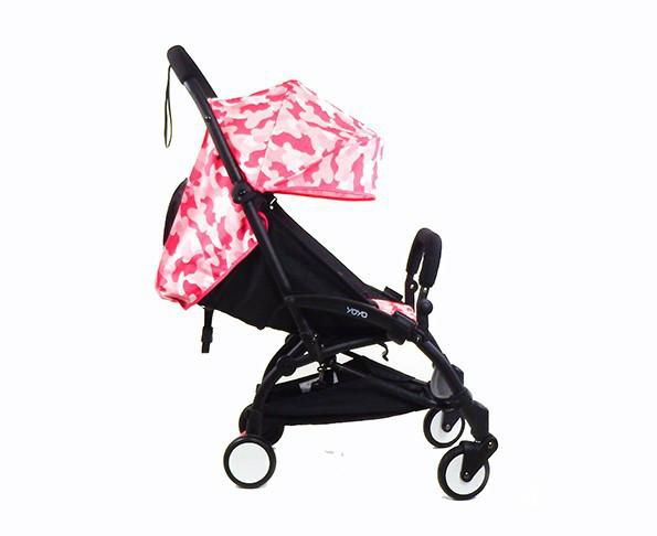 Детская коляска YOYA 175 A+ Камуфляж Розовый (20181116V-564)