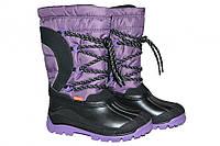 Зимние сапоги дутики Demar SAMANTA  (фиолетовые) , фото 1