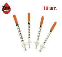 Инсулиновый шприц «Микро-Файн» Деми (Demi) 0,3мл х 8мм- 10шт. (Ирландия)