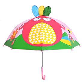 """Дитячий парасольку 3D вушка """"Райська пташка"""""""