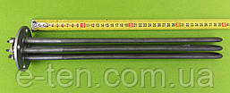 Блок тенів НЕРЖАВІЙКА 6000W / 220V (на круглому фланці Ø85мм / 4 отвори) для електрокотлів, водонагрівачів