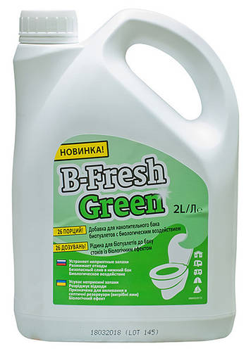 Жидкость д/биотуалета B-Fresh Green, 2 л