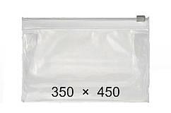 Пакети з замком слайдером - 350 × 450