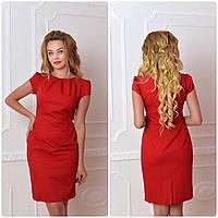 Платье арт. 716, красное, фото 1