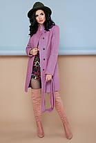 Женское пальто П-308 Цвет  персик размер 42,44,46,52, фото 2