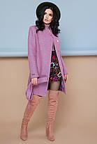 Женское пальто П-308 Цвет  персик размер 42,44,46,52, фото 3