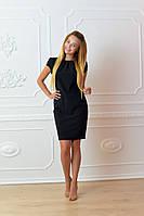 Платье арт. 716 черное, фото 1