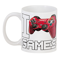 Кружка GeekLand  I Love Games