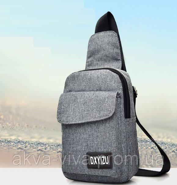 Рюкзак унисекс на одно плечо 22*15,5*5 см (СР-1062)