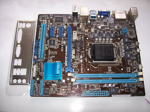 ASUS P8H61-M LE/USB3  Socket 1155 Б/У Полностью рабочая