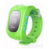 Детские часы-телефон c GPS Smart Baby Watch Q50 (салатовые)