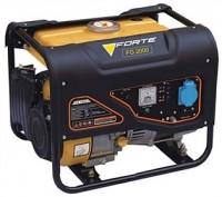 Бензиновый генератор FORTE FG2000 (1 фаза)