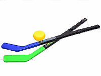 Набор для хоккея 2 клюшки и шайба