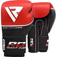 Боксерские перчатки RDX Quad Kore Red, фото 1