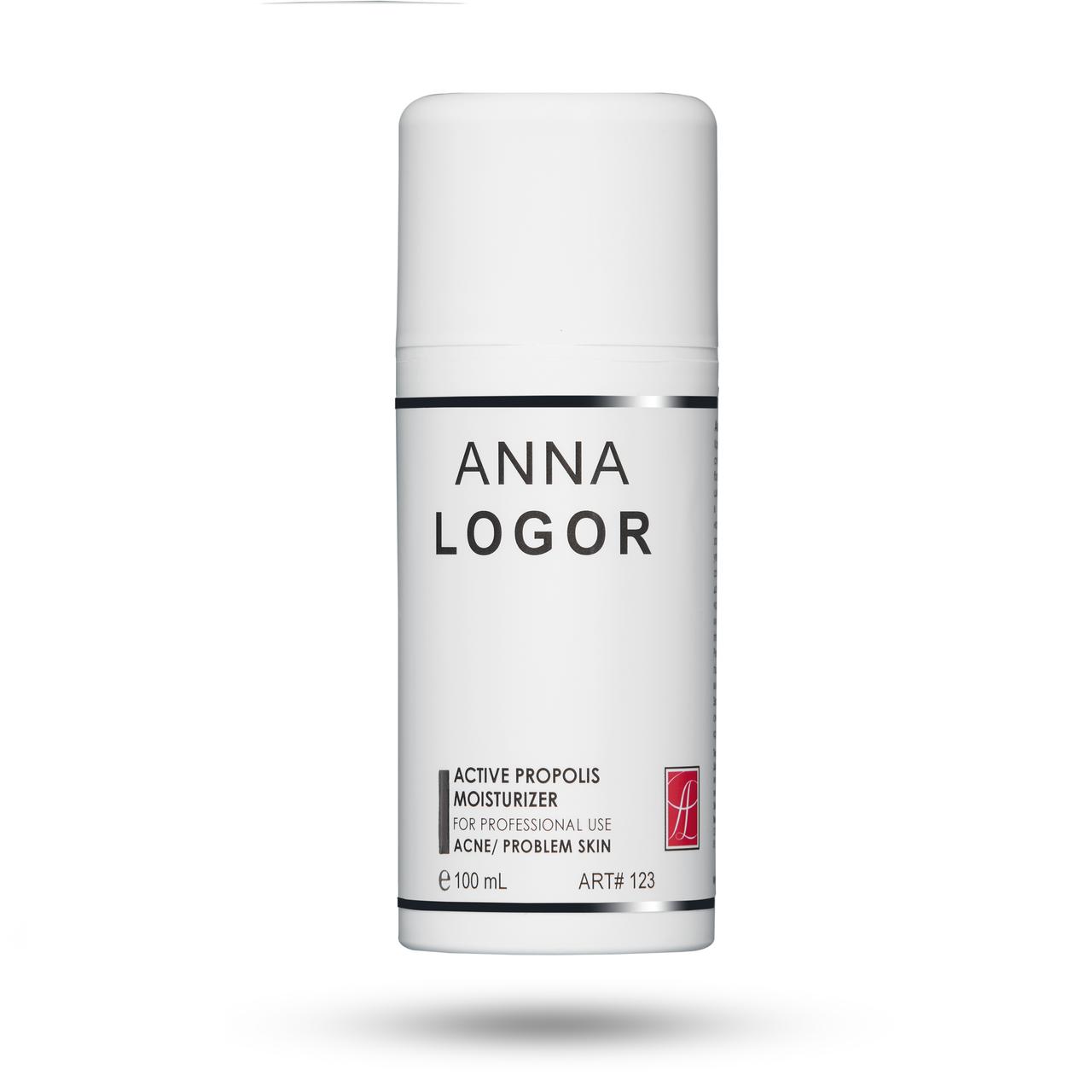 Активний крем з прополісом для проблемної шкіри Анна Логор / Anna Logor Active Propolis Moisturizer Код 123