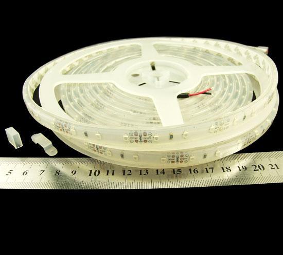 Світлодіодна стрічка RISHANG RN3060TA-B 2835-60-IP67-B-10-12 жовта 5.5Вт 12 вольт 26лм 8239