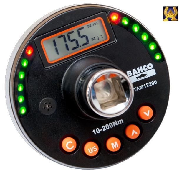 "Цифровой адаптер 1/2"" 10-200 Nm, Bahco TAM12200"