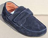 Школьные туфли замшевые для мальчика от производителя модель СЛТ5520-1, фото 3