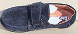 Школьные туфли замшевые для мальчика от производителя модель СЛТ5520-1, фото 4
