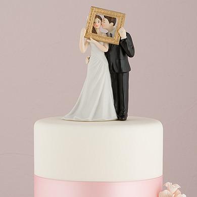 Фигурка на свадебный торт 1046