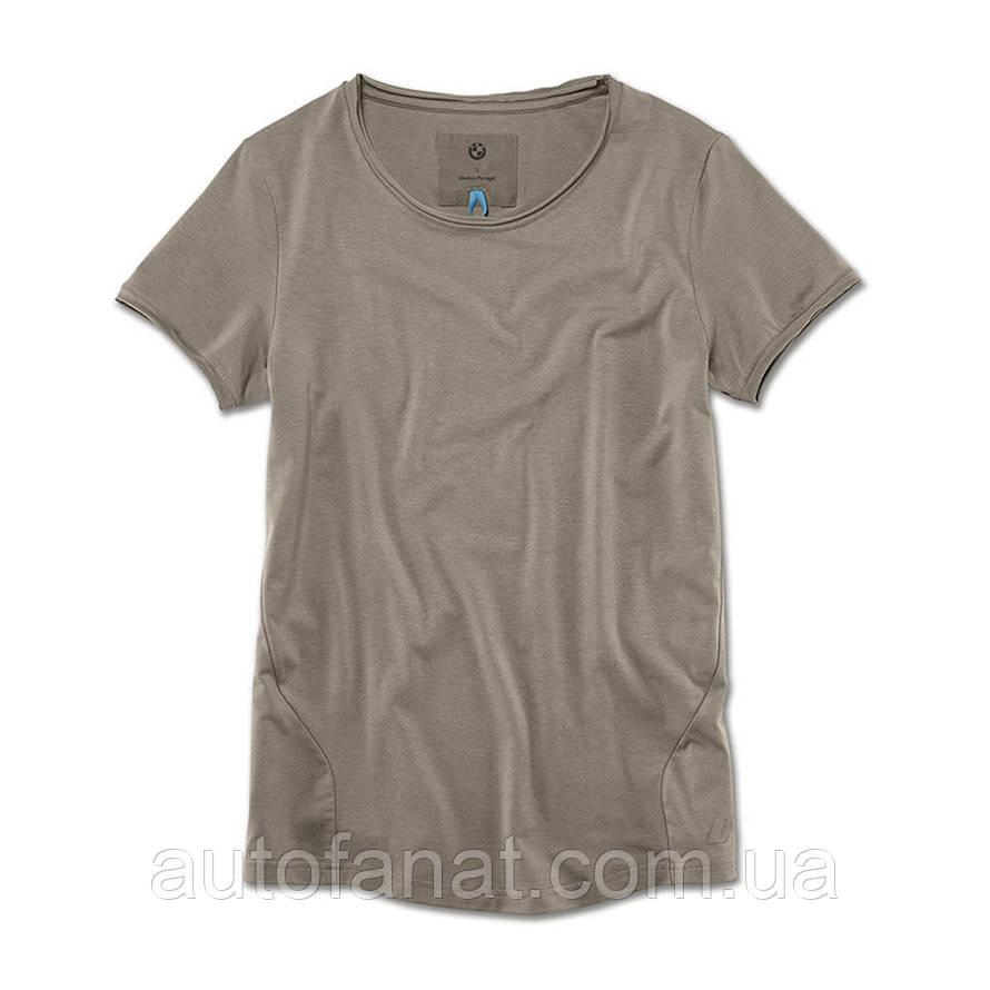 Оригинальная женская футболка BMW i T-Shirt, Ladies, Taupe (80142454808)