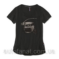 Оригинальная женская футболка BMW M Graphic T-Shirt, Ladies, Black (80142454729)