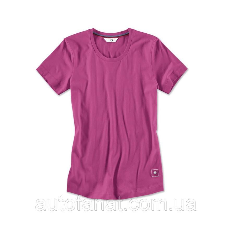 Оригинальный женская футболка BMW T-Shirt, Ladies, Zyclam Red (80142411032)