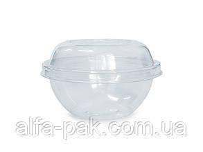 Упаковка круглая 500РК прозрачная