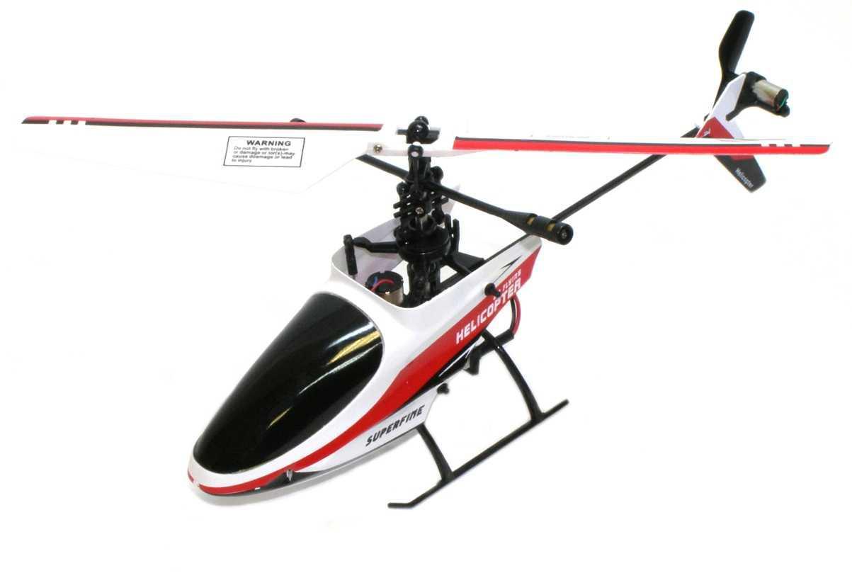 Маневренный вертолёт на радиоуправлении 4-к микро Xieda 9958 (красный)
