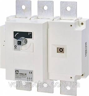Выключатели нагрузки LBS 630A 3p (без рукоятки)