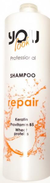 You look Professional Repair Шампунь для осветленных и сухих волос, Объем: 1000 мл