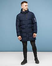 11 Kiro Tokao | Зимняя куртка мужская 6003 темно-синий, фото 2