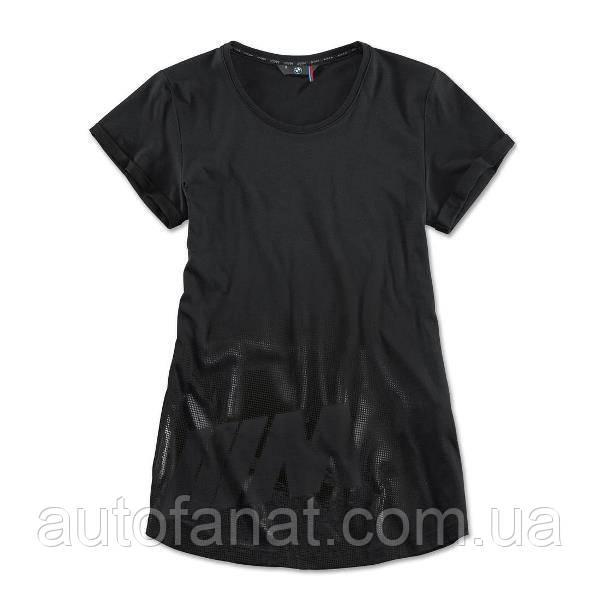 Оригинальная женская футболка BMW M T-Shirt, Ladies, Black (80142410906)